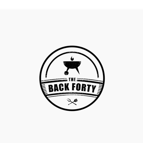 The Back Forty logo concept