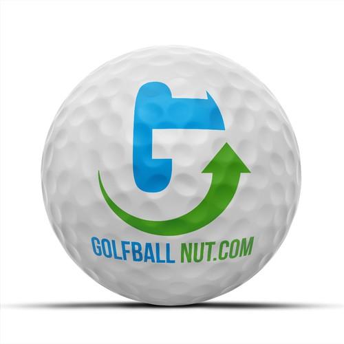 Logo for Golf Ball Nut .com