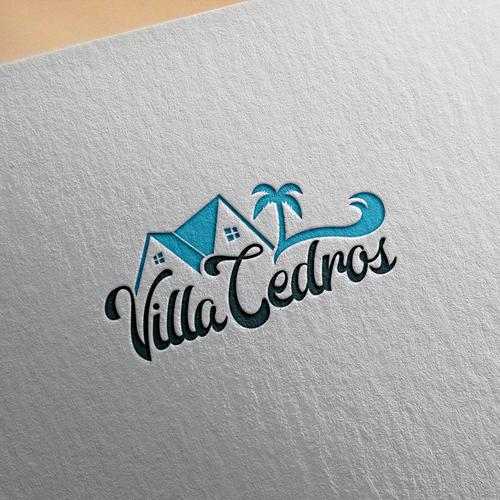 Script text logo for Villa Cedros