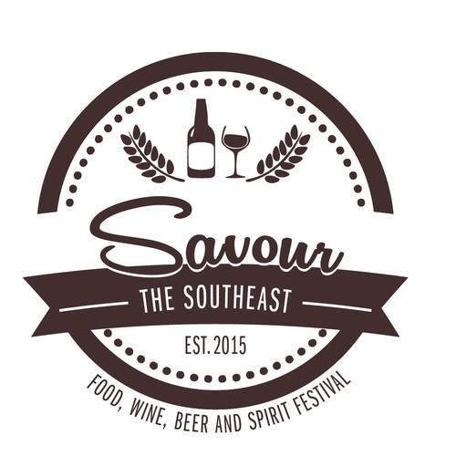 Logo for food festival