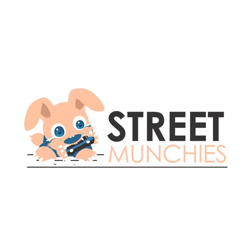 Logo Design Concept for Street Munchies