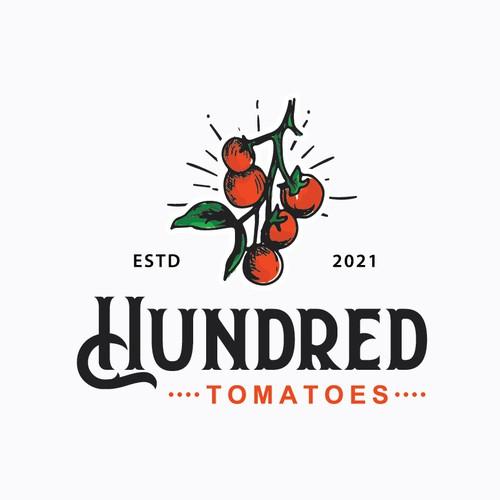 tomatoes vintage logo