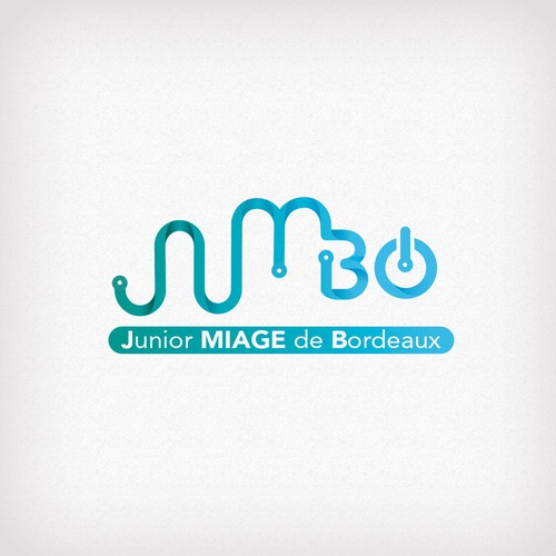 logo concept for Junior MIAGE of Bordeaux