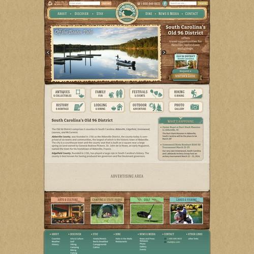 Tourism Website for SC