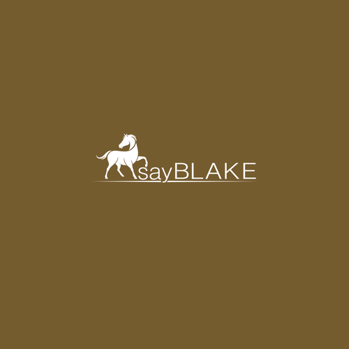 Bold logo concept for say BLAKE