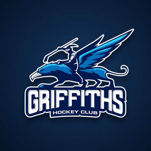 Griffin with Knight Logo