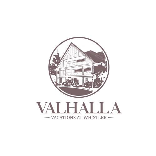 Valhalla Vacations at Whistler Logo