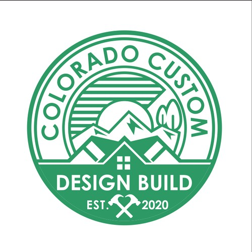"Bold Logo Concept For ""COLORADO CUSTOM"""