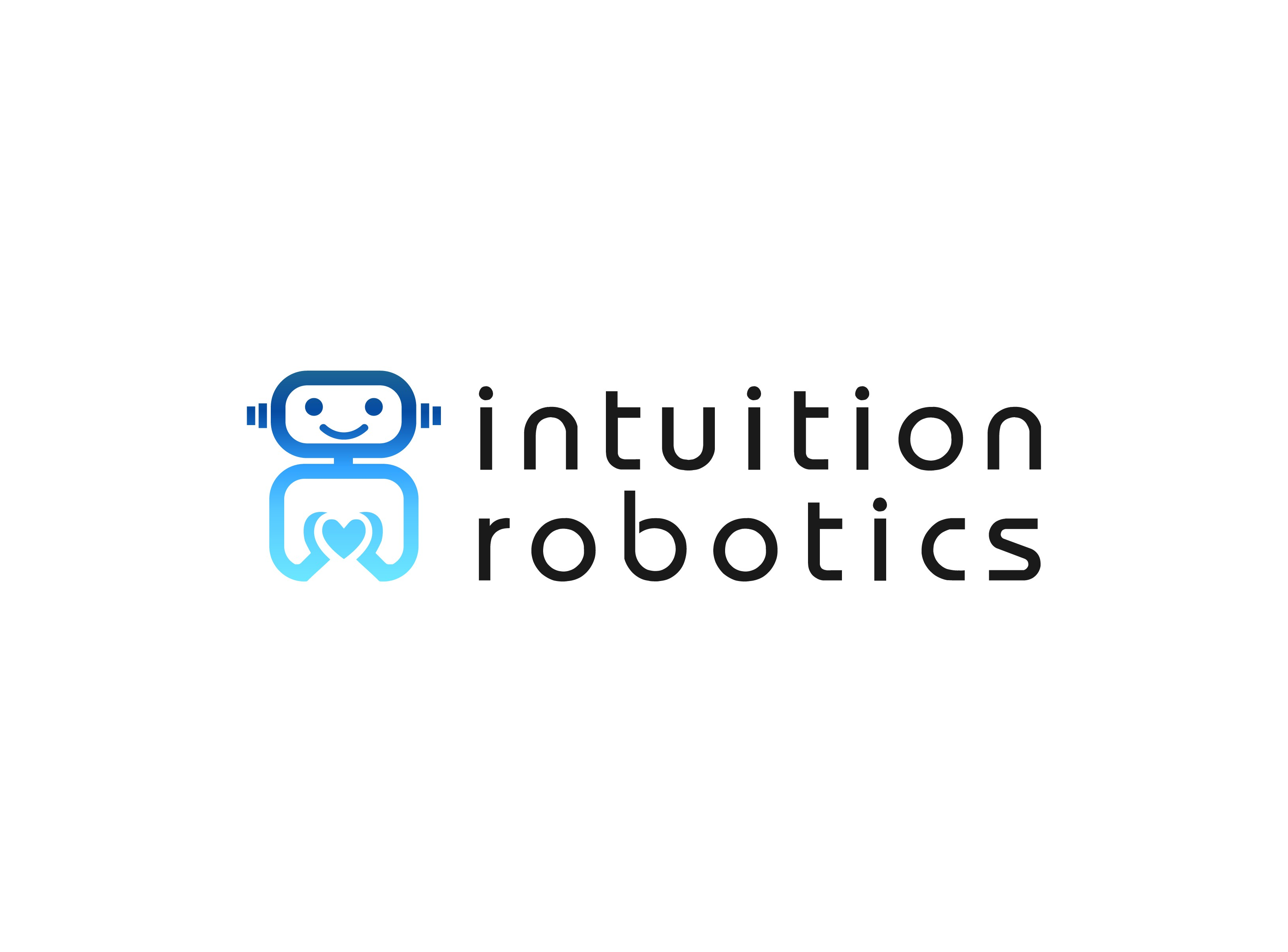 Logo for social robotics company that will help millions of people