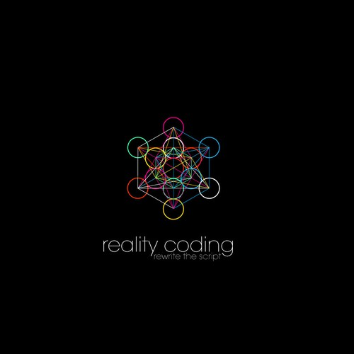 Design a fresh futuristic logo for Reality Coding