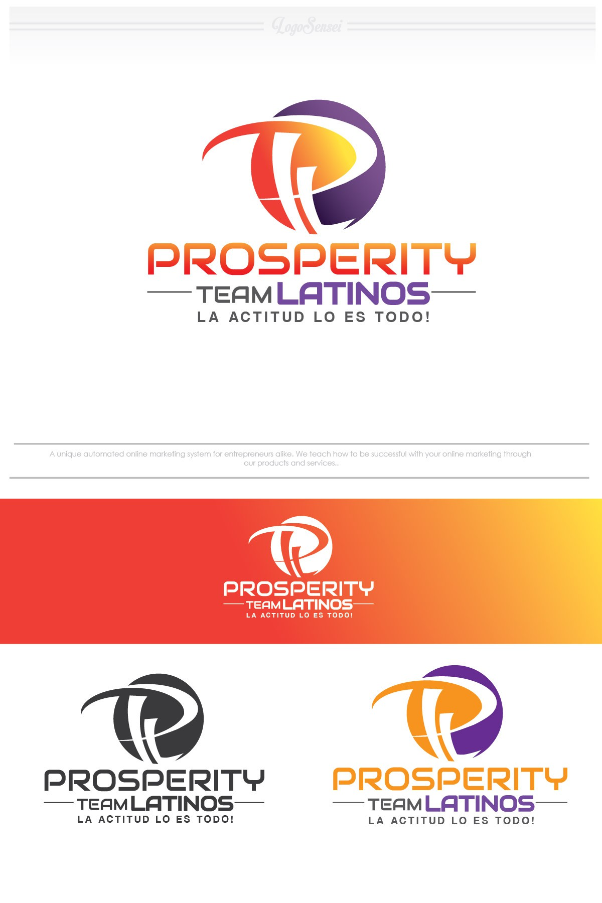 Help Prosperity Team Latinos with a new logo