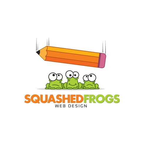 Squashed Frogs Web Design needs a new logo