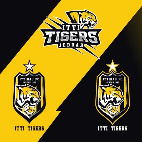 Ittihad FC. Logo