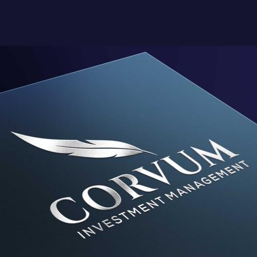 Won design for Corvum Investment Management