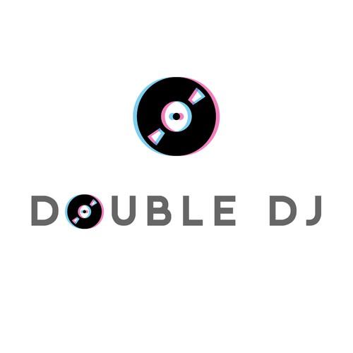 DJ logo concept