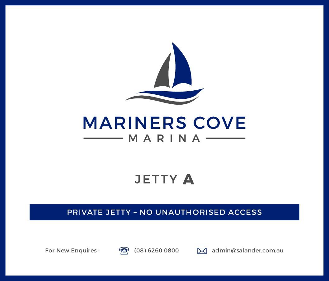 Marina site sign