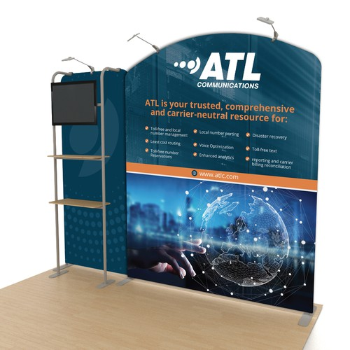 ATL Communications Trade Show Booth Design