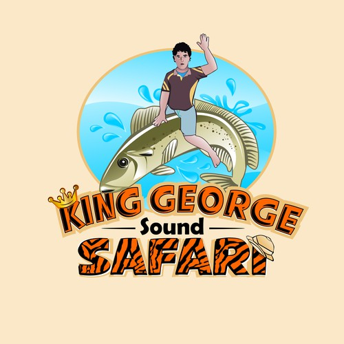 King George Sound Safari Logo Design