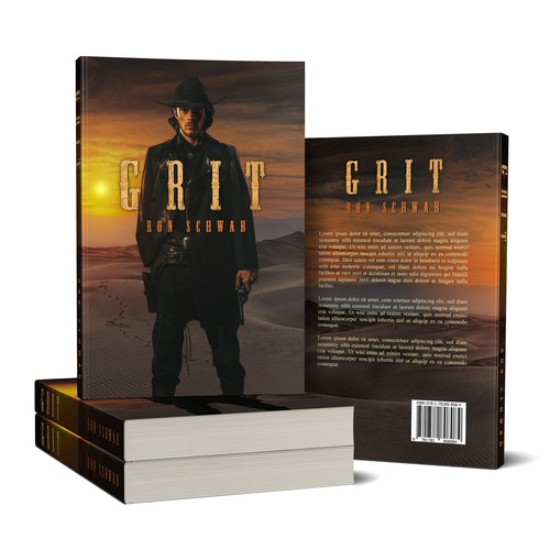 Book Cover Design for GRIT