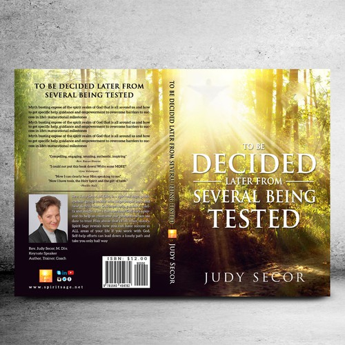 To be decided later book cover
