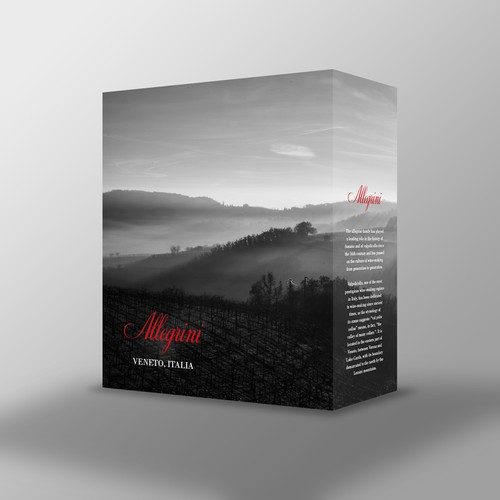 Allegrini Wine Packaging
