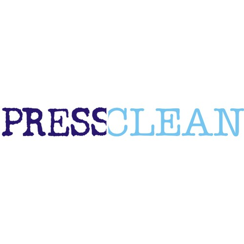 Create the next logo for Press Clean