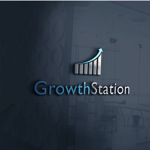 Logo Design for Growth Station