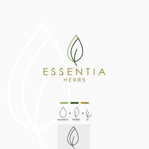Logo for herbs product