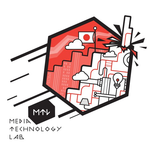 Media Technology Lab t-shirt design