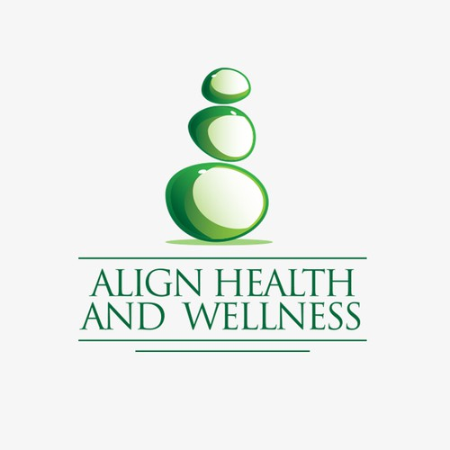 Align health and wellness logotype