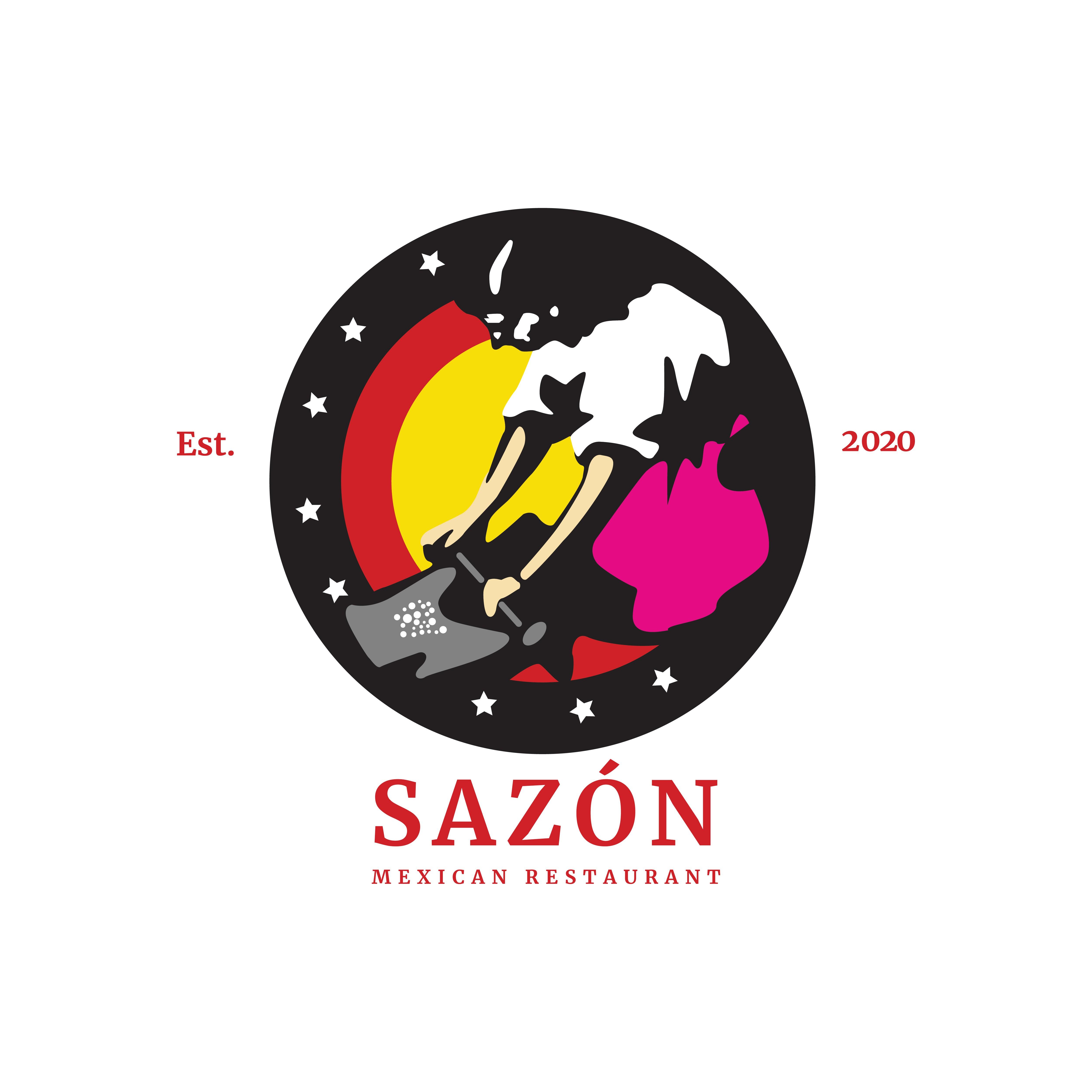 Sazón Express - Logo Edits - 2