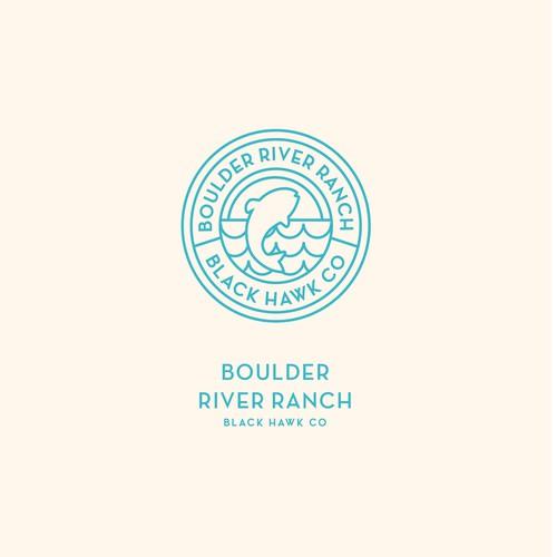 Logo Design for Boulder River Ranch