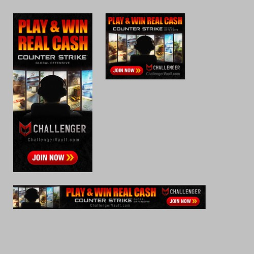 Gaming Banner Ad