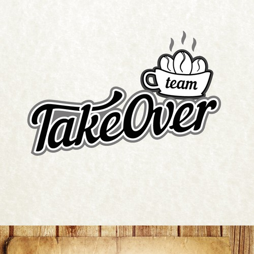 Create a sports logo for Team Takeover!