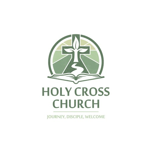 Elegant logo for Catholic church