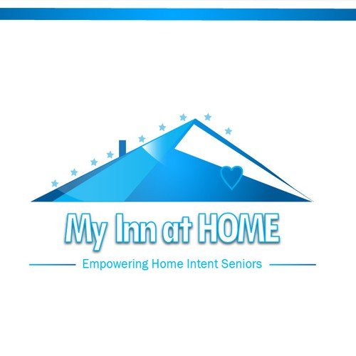Logo concept for My Inn at home