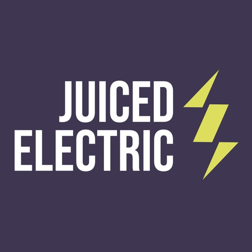 Logo concept for electrical company