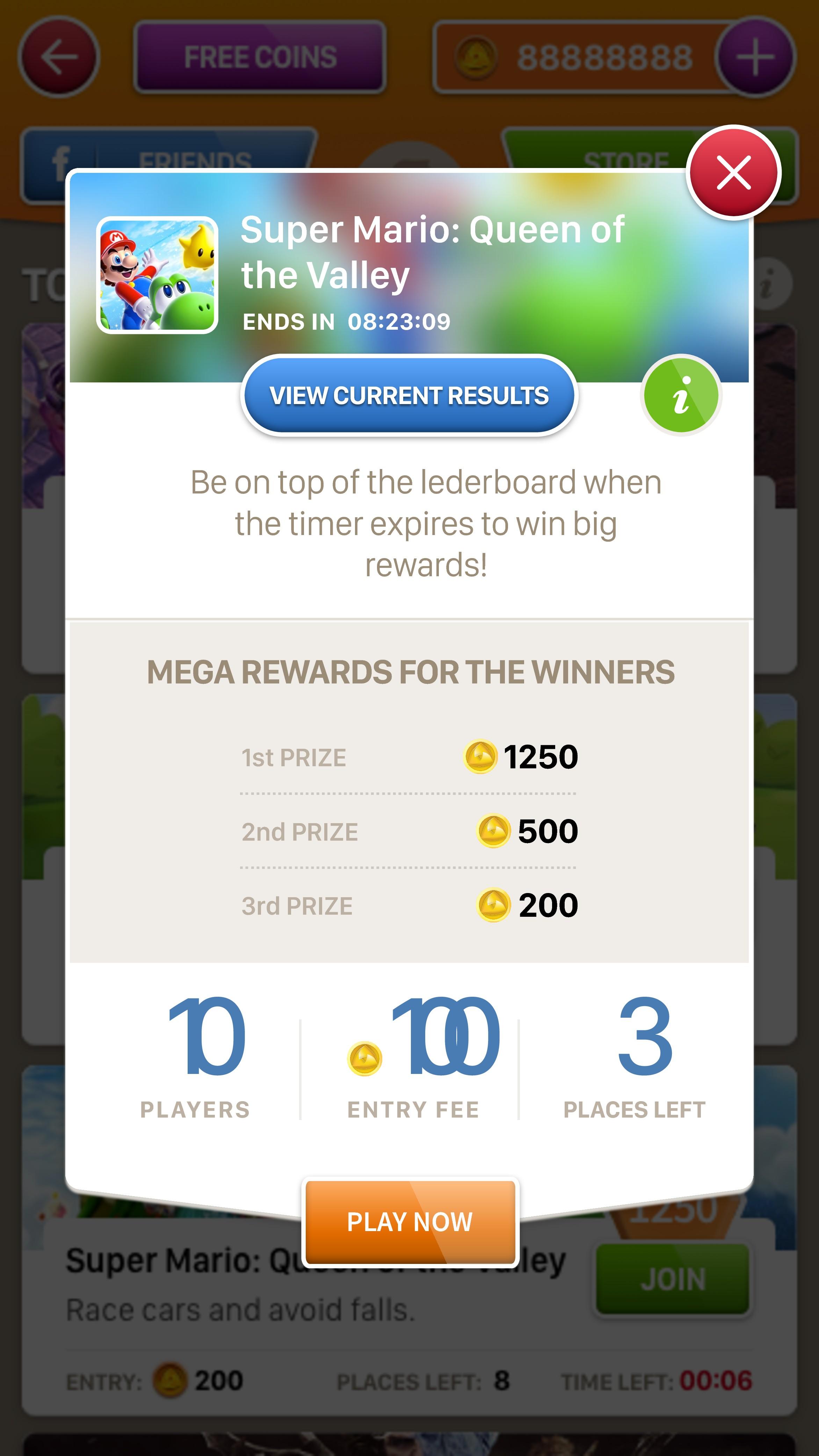 Design an innovative platform for competitive mobile gaming