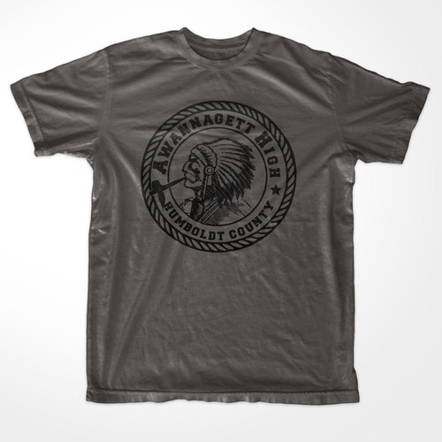 Gag T-Shirt Design: High School Seal
