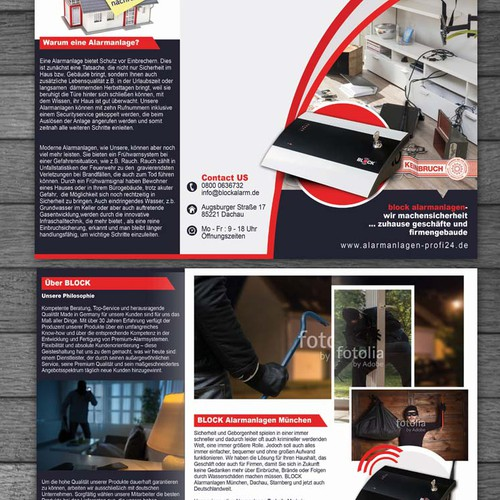 Brochure for Block Alarm System