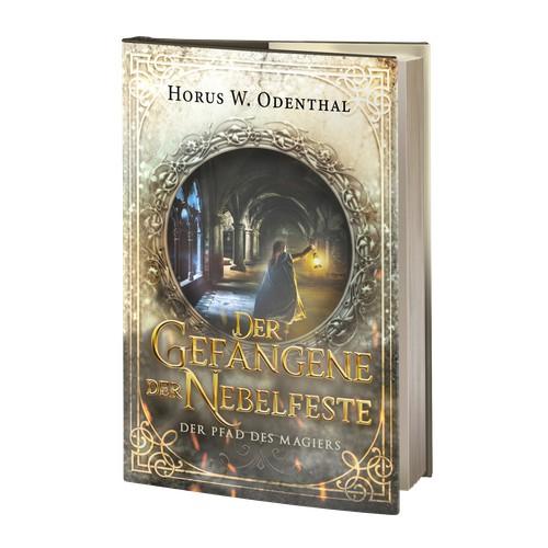 Book cover: Der Pfad des Magiers: Der Gefangene der Nebelfeste