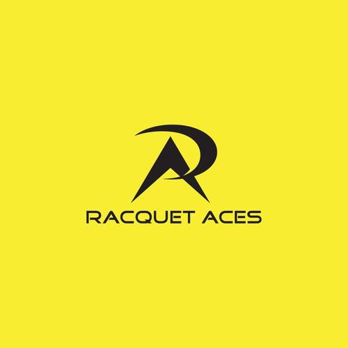Logo design for a racquet sport enthusiast brand