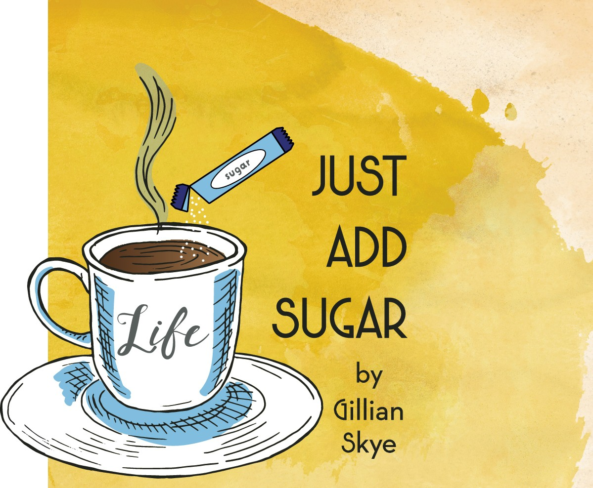 Just Add Sugar - Podcast cover and website image/logo