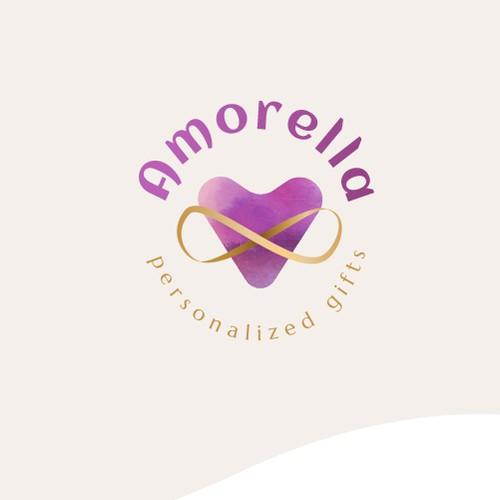 """""""Amorella"""" logo concept"""