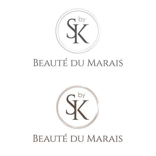 Concept de logo pour un institut de beauté luxe