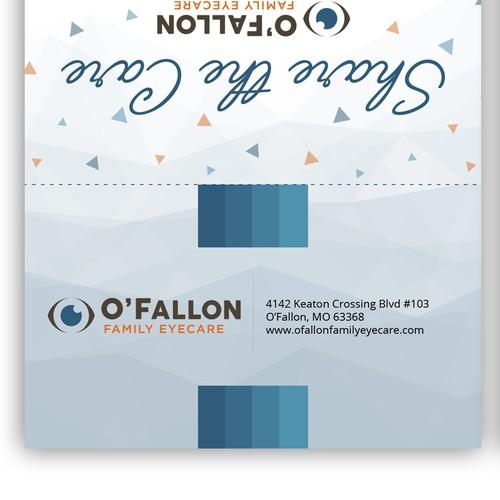 Optometry Practice Referral Card