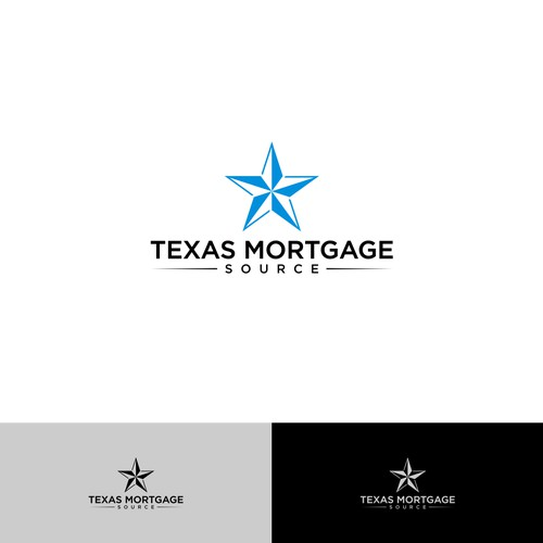 logo concept for Texas Mortgage Source
