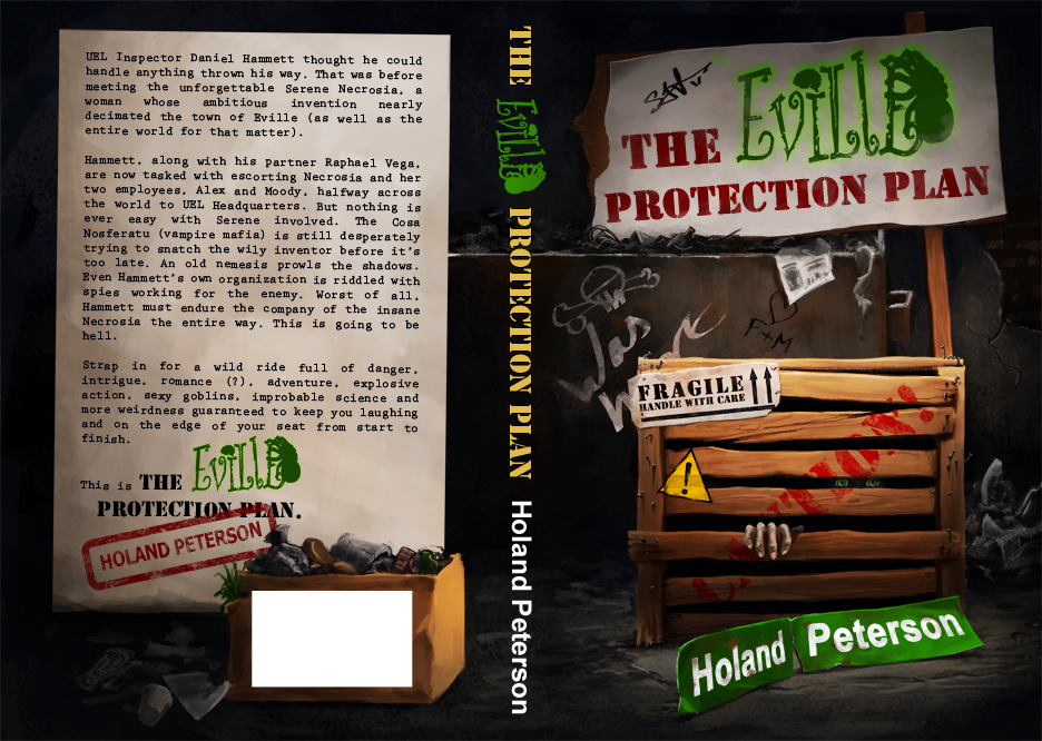 Create the next book or magazine cover for Holand Peterson