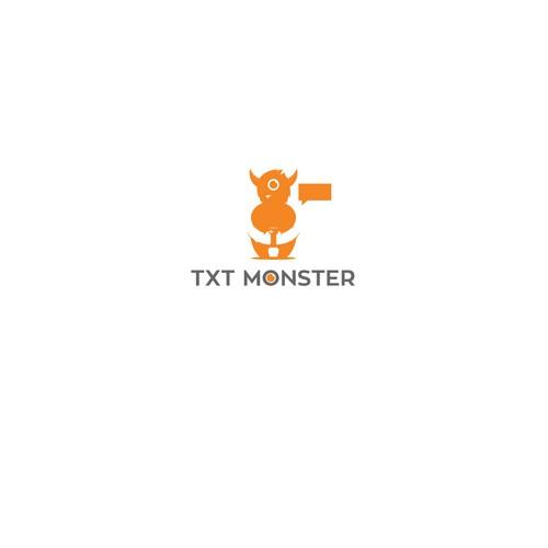 Logo for TXT MONSTER