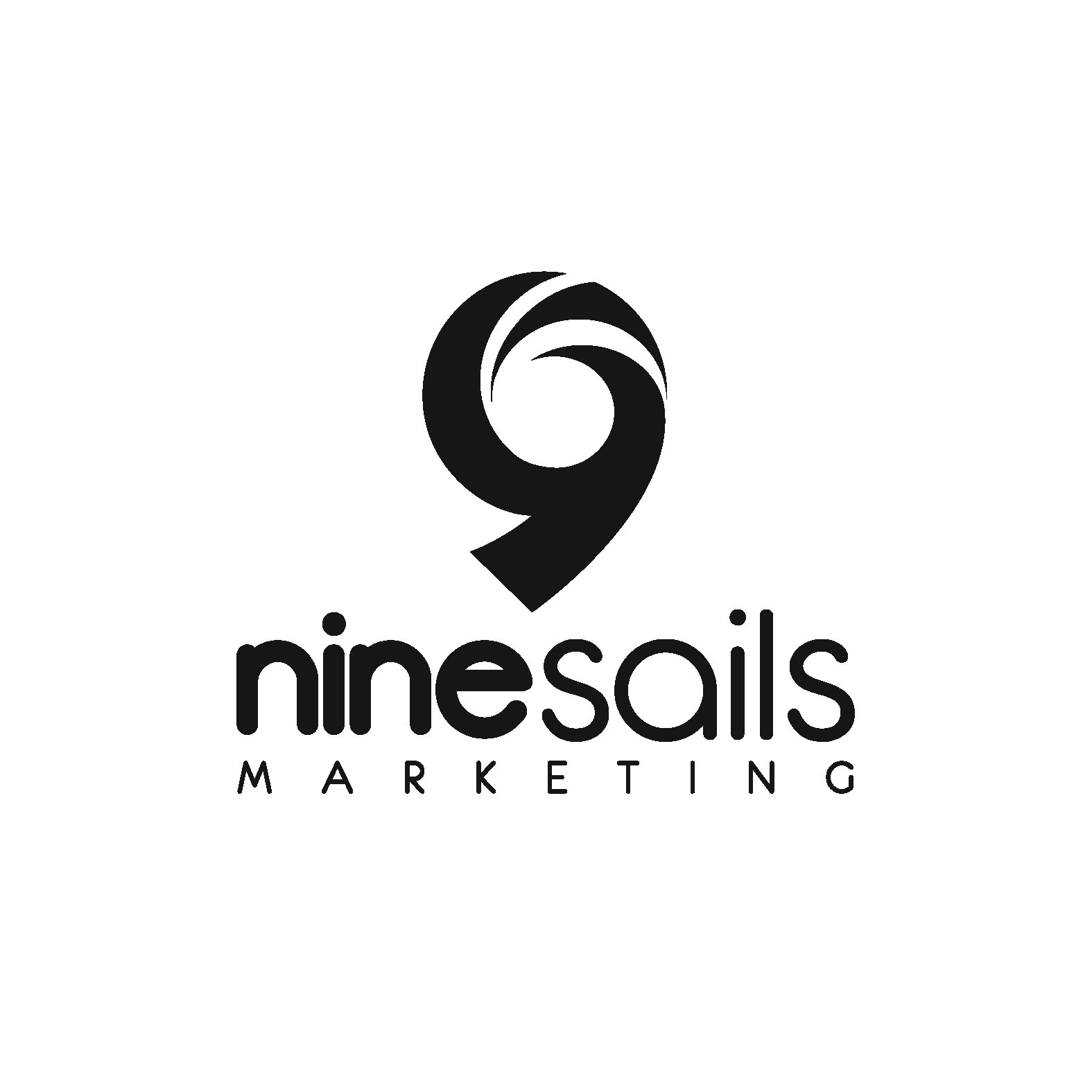 Create an impactful brand image logo for NineSails Marketing